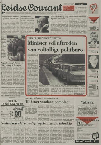 Leidse Courant 1989-11-06