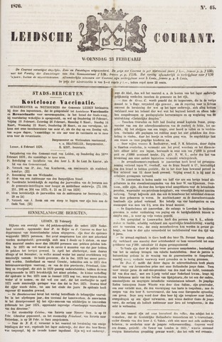 Leydse Courant 1876-02-23