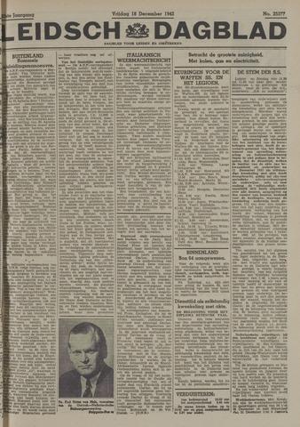 Leidsch Dagblad 1942-12-18