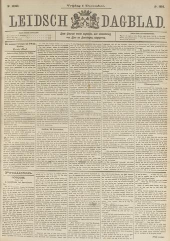 Leidsch Dagblad 1893-12-01