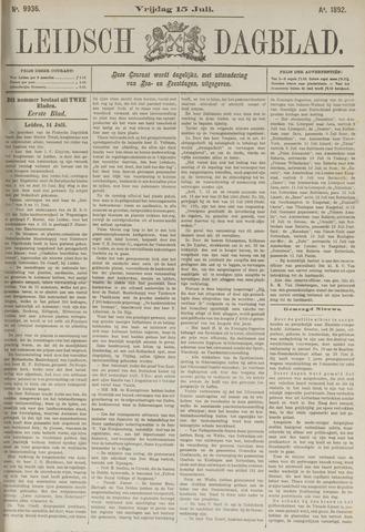 Leidsch Dagblad 1892-07-15