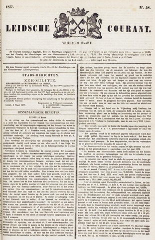 Leydse Courant 1877-03-09