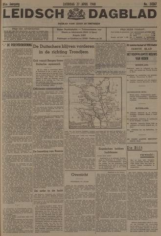 Leidsch Dagblad 1940-04-27