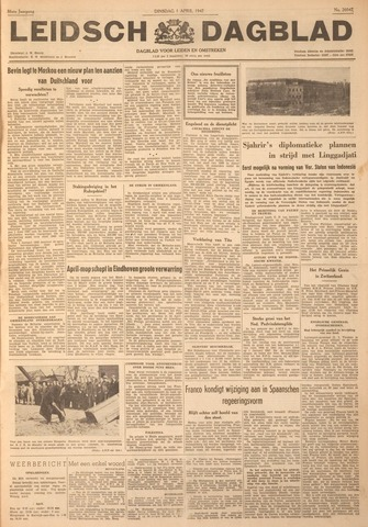 Leidsch Dagblad 1947-04-01