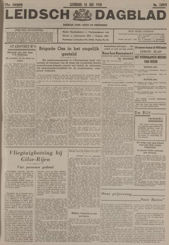 Leidsch Dagblad 1938-07-16