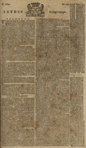 Leydse Courant 1752-08-25