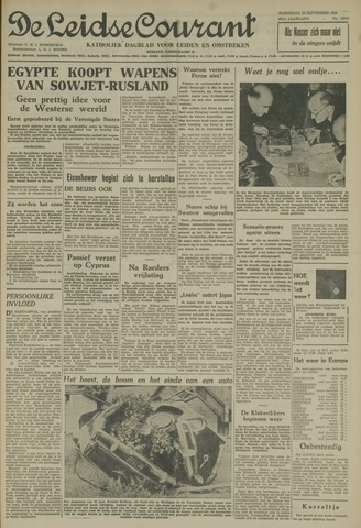 Leidse Courant 1955-09-28