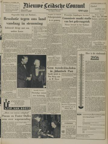Nieuwe Leidsche Courant 1957-11-21