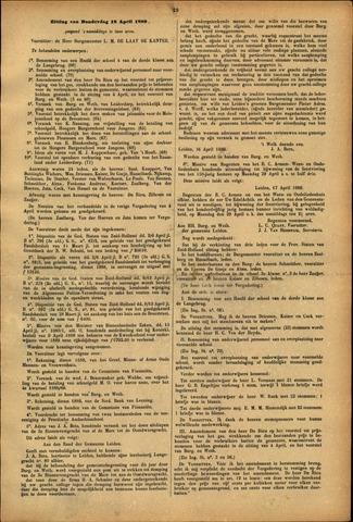 Handelingen van de Raad 1889-04-18
