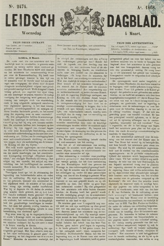 Leidsch Dagblad 1868-03-04