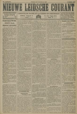 Nieuwe Leidsche Courant 1927-08-26