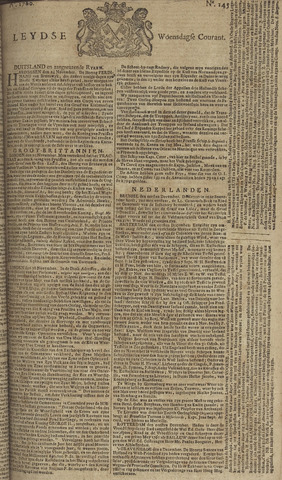Leydse Courant 1760-12-03