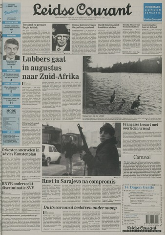 Leidse Courant 1992-03-03