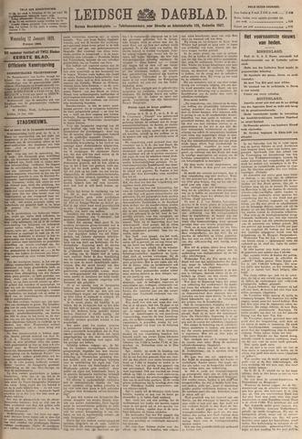 Leidsch Dagblad 1921-01-12