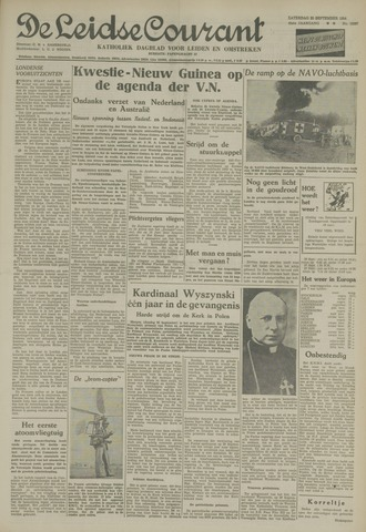 Leidse Courant 1954-09-25