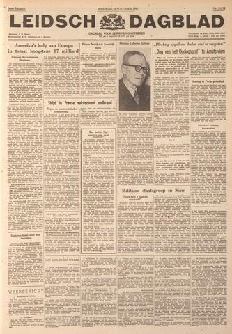 Leidsch Dagblad 1947-11-10