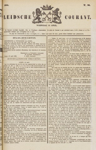 Leydse Courant 1884-04-16