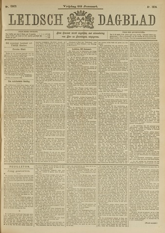 Leidsch Dagblad 1904-01-22