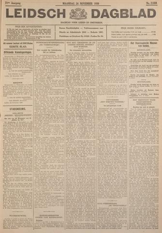 Leidsch Dagblad 1930-11-24