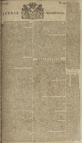 Leydse Courant 1758-11-27