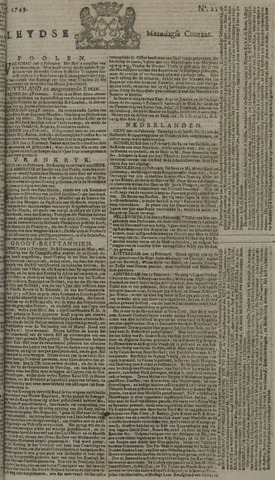 Leydse Courant 1749-02-17