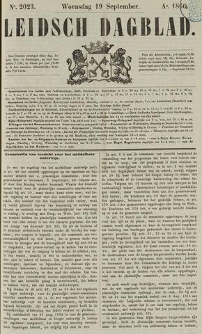 Leidsch Dagblad 1866-09-19