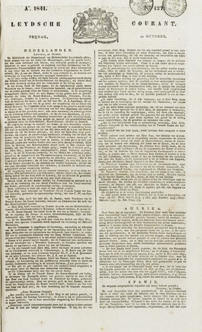 Leydse Courant 1841-10-22