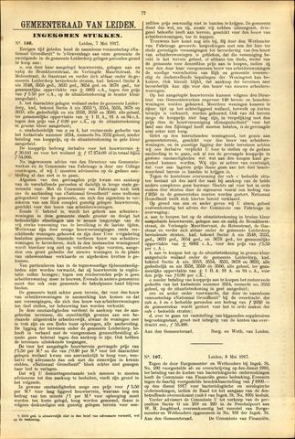 Handelingen van de Raad 1917-05-07