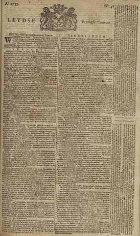 Leydse Courant 1759-04-20