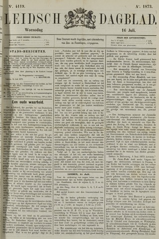 Leidsch Dagblad 1873-07-16