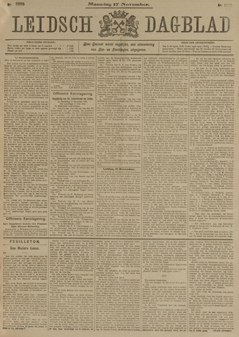Leidsch Dagblad 1902-11-17