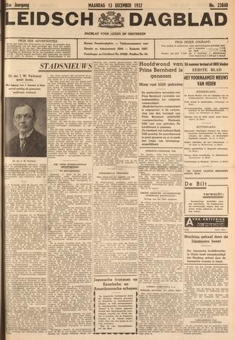Leidsch Dagblad 1937-12-13