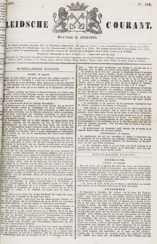 Leydse Courant 1871-08-21