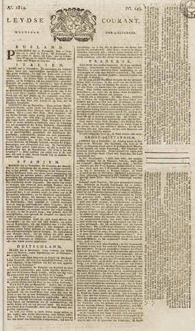 Leydse Courant 1814-12-14