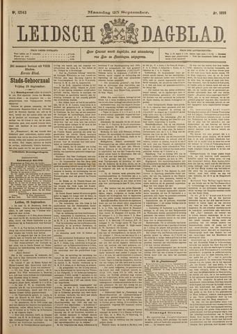 Leidsch Dagblad 1899-09-25