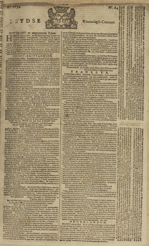 Leydse Courant 1754-05-29