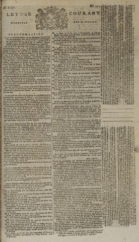 Leydse Courant 1790-08-25