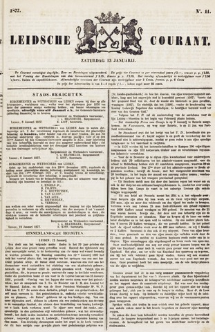 Leydse Courant 1877-01-13