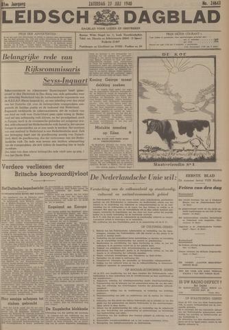 Leidsch Dagblad 1940-07-27