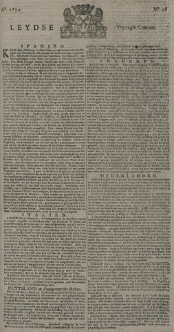 Leydse Courant 1734-03-05