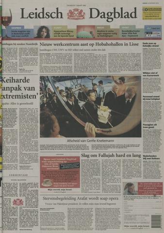Leidsch Dagblad 2004-11-09
