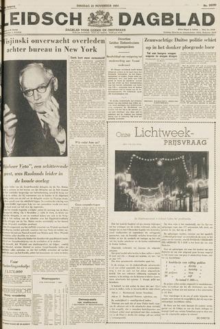 Leidsch Dagblad 1954-11-23