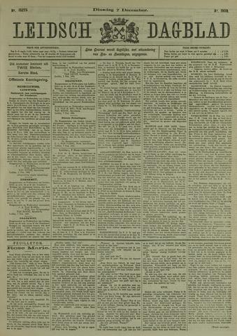 Leidsch Dagblad 1909-12-07