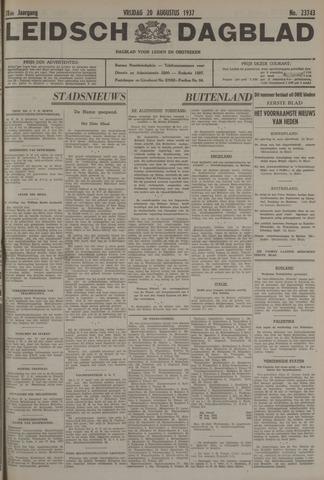 Leidsch Dagblad 1937-08-20