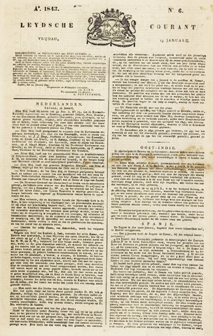 Leydse Courant 1843-01-13