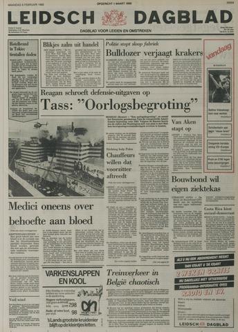 Leidsch Dagblad 1982-02-08