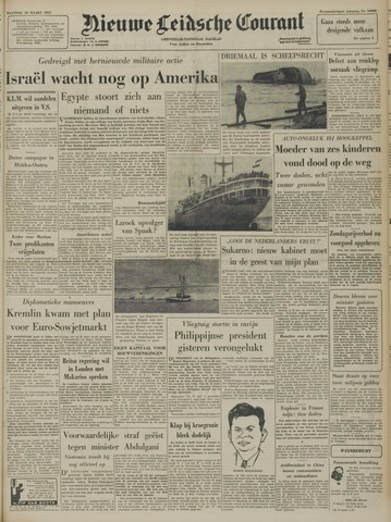 Nieuwe Leidsche Courant 1957-03-18