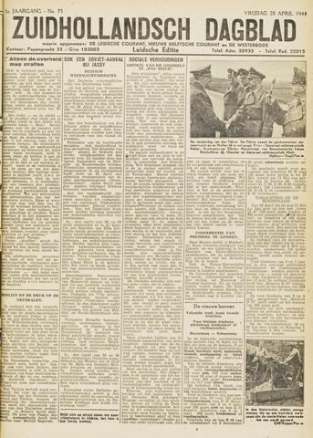 Zuidhollandsch Dagblad 1944-04-28