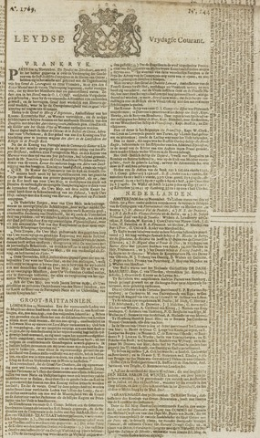 Leydse Courant 1769-12-01