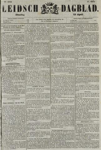 Leidsch Dagblad 1873-04-15